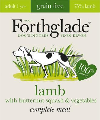 Forthglade Lifestage Grain Lamb and Butternut Squash 395g 7 pack