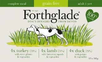 Forthglade Lifestage Grain Free Multipack