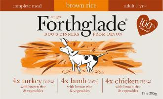 Forthglade Lifestages Chicken,Lamb,Turkey Multipack 12 Pack