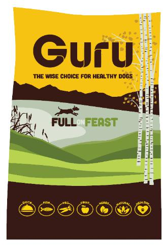 Guru Full on Feast Dog Food 14kg