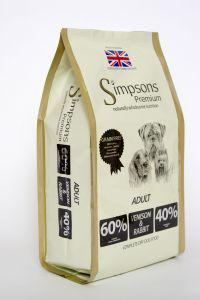 Simpsons Premium Adult 60/40 Venison & Rabbit 10kg