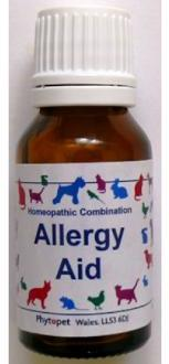 Phytopet Allergy Aid Homeopathic For Allergies