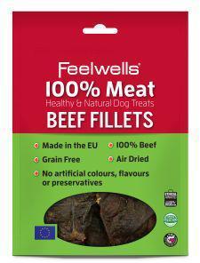 Feelwells 100% Meat Treats Kangaroo Bars (5pk) x 10