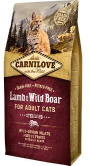 Carnilove Lamb & Wild Boar Adult Cat Food 2kg