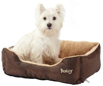 Bunty Deluxe Bed Brown Medium