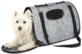 Bunty Dog Travel Carrier Grey