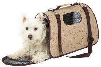 Bunty Dog Travel Carrier Brown