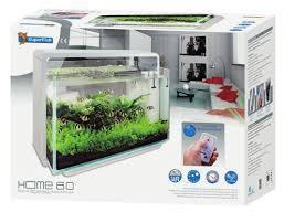 SuperFish Home 80 Ltr Aquarium White