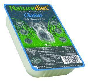 Nature Diet Chicken Dog Food 390g x 18