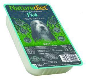 Nature Diet Fish and Rice Dog Food x 18