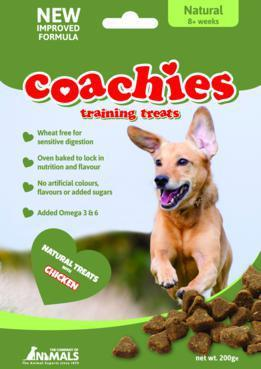 Coachies Natural Dog Treats 200g