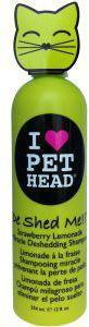 Pet Head Cat De Shed Strawberry Cat Shampoo