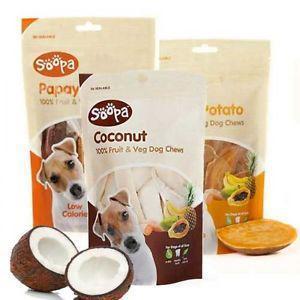 Soopa natural dog treats