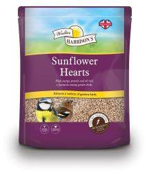 Walter Harrisons Sunflower Hearts 4kg
