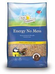 Walter Harrisons Energy No Mess Wild Bird Seed 12.75kg