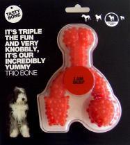 Nylon Tastybone Trio Bone Beef Small