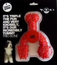 Nylon Tastybone Trio Bone Beef Large