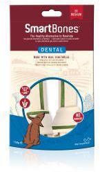 SmartBones Dental Medium Bones 2 Pack
