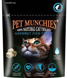 Pet Munchies Cat Treats Gourmet Fish Fillet