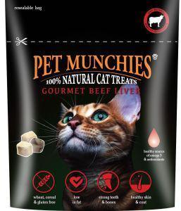 Pet Munchies Cat Treats Gourmet Beef Liver