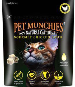 Pet Munchies Cat Treats Gourmet Chicken Liver