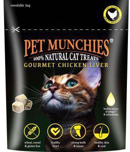 Pet Munchies Cat Treats Gourmet Chicken Liver