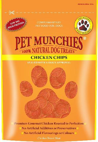 Pet Munchies Chicken Chips Dog Treats
