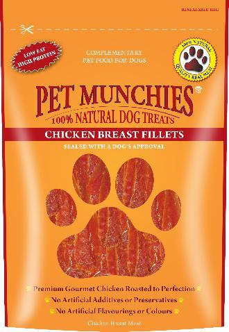 Pet Munchies Chicken Breast Fillet Dog Treats