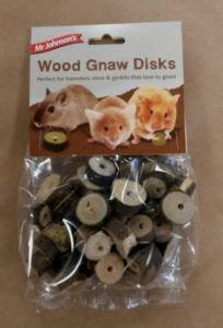 Mr Johnsons Wood Gnaw Disks
