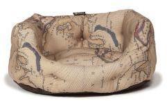 Danish Design Deluxe Slumber Bed Vintage Maps 89cm