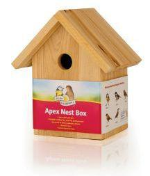 Harrisons Wooden Nest Box Apex