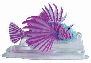 SuperFish FLUO Ornaments Lion Fish Blue
