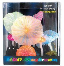 SuperFish FLUO Ornaments Mushroom