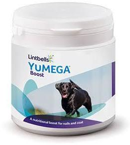 Lintbells YuMEGA Boost Dog 180 scoops