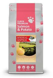 Animal Antics Super Premium Salmon and Potato Dog Food 6Kg