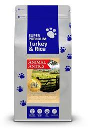Animal Antics Super Premium Turkey and Rice Dog Food 12Kg
