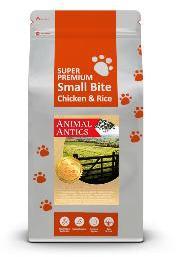 Animal Antics Super Premium Small Bite Chicken and Rice Dog Food 12kg
