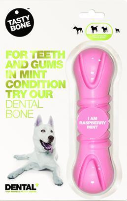 Tastybone Nylon Dental Bone Raspberry Mint