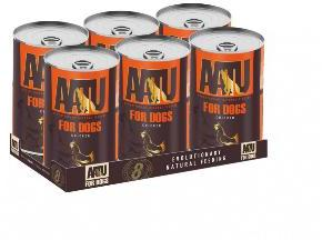 AATU Dog Adult Chicken 400g tins x 6