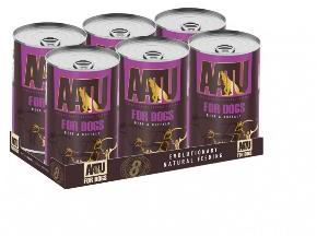 AATU Dog Adult Beef and Buffalo 400g tins x 6