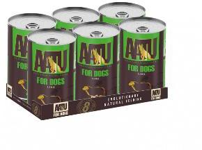 AATU Dog Adult Lamb 400g tins x 6