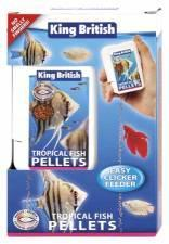 King British Trop Fish Mini Pellet Easy Feeder 30g
