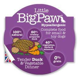Little Big Paw Dog Tender Duck & Veg Dinner 85g x 8
