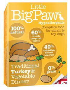 Little Big Paw Dog Traditional Turkey & Veg Dinner 150g x 7