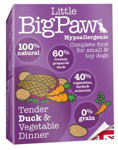 Little Big Paw Dog Tender Duck & Veg Dinner 150g x 7