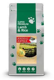 Animal Antics Super Premium Lamb and Rice Dog Food 2Kg