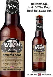 Woof & Brew Bottom Sniffer Beer