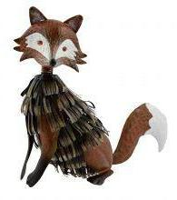 Supa Metal Fox Garden Ornament 43cm