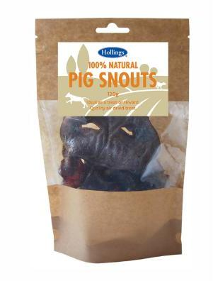 Hollings Natural Pig Snouts 120g
