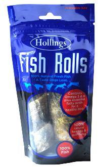 Hollings Fish Rolls Dog Treats
